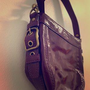 Deep Purple Coach Handbag